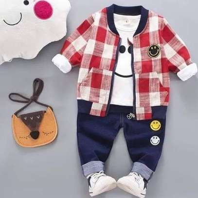 3pc Boy outfit 3 months - 4 Years
