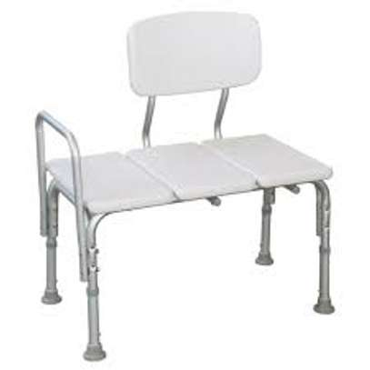 Adjustable Height Shower Transfer Bench (shower chair) image 2