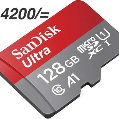 SanDisk Ultra 128GB UHS-I Class 10 MicroSDXC Memory Card Up to 80mb/s