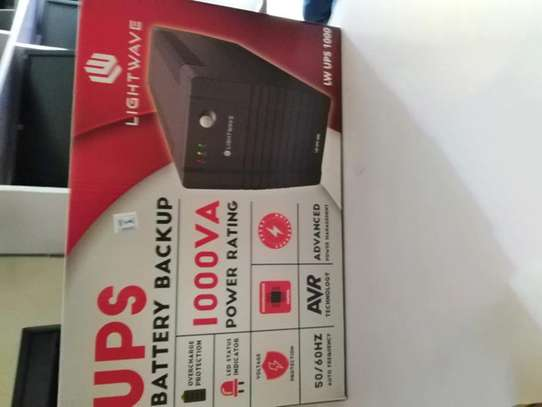 UPS battery backup 1000VA
