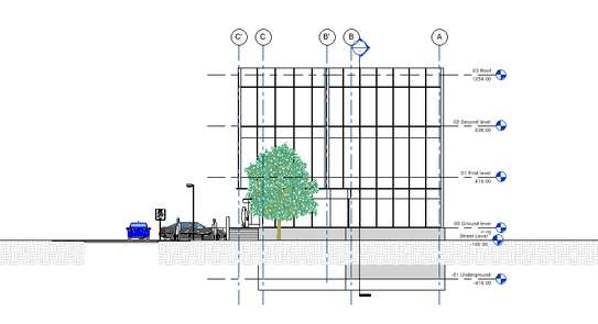 Office building plan image 11