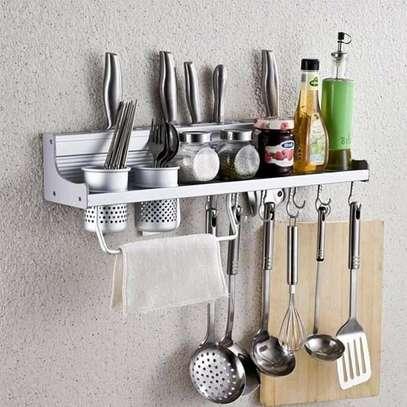 Aluminium kitchen floating shelf image 3