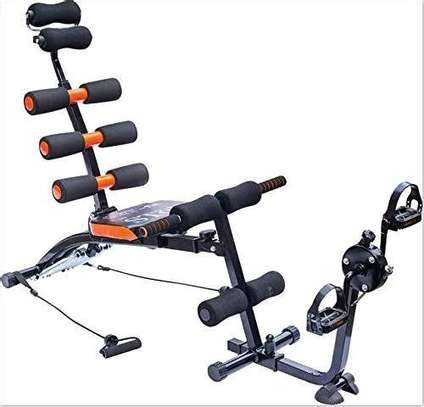 *6 pack care  wondercore exercise with pedal image 1