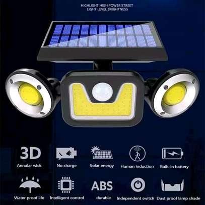 Solar motion sensor light image 4