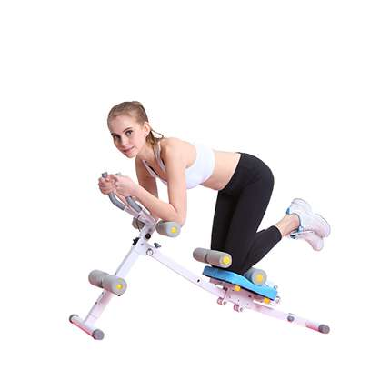 Abs Core max Abdominal Power Plank Exercise Machine image 1