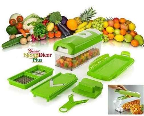 Nicer dicer vegetable chopping set image 1