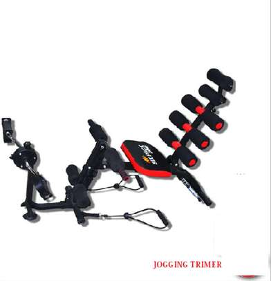 Six Pack with Cycle Fitness machine.