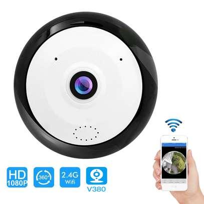 Mini Fisheye Camera 2MP WiFi CCTV Camera image 2