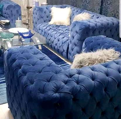 Stylish All Tufted Classic 5 Seater Chesterfield Sofa image 1