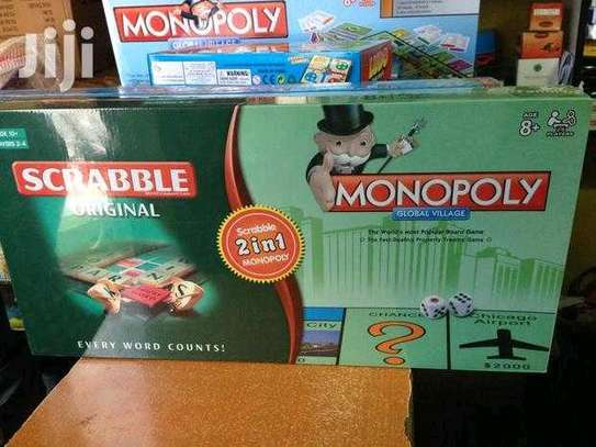 Scramble and monopoly game