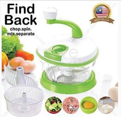 Findback food processor with egg separator image 1