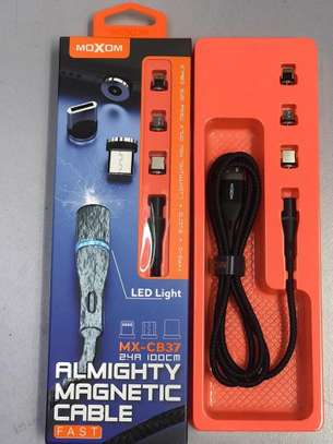 MOXOM (Model: MX-CB37) ALMIGHTY 3 in1 Magnetic Cable image 2
