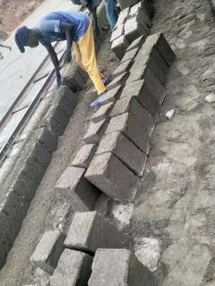 Machine Cut Construction Bricks image 1
