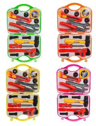 Kids Handy Man Construction Repair Tool Set Kit Toys image 1