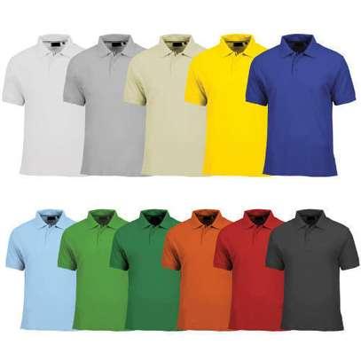 plain polo t shirts image 1