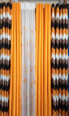 decorative linen curtains image 1