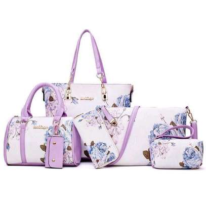 6in1 purple handbags C image 1