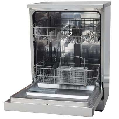 Ramtons RW/300, 12 Settings Dishwasher Machine- Mar Silver image 2