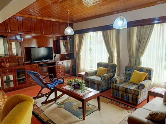 Furnished 4 bedroom house for rent in Gigiri image 9