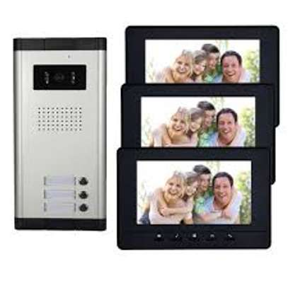 cctv,door access control,video intercom,electrical wiring and fire alarm systems image 2