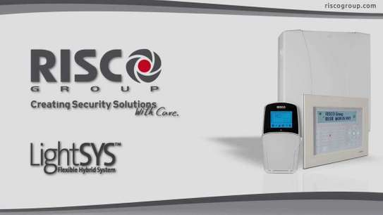 Risco lightsys control panel with LCD keypad image 2