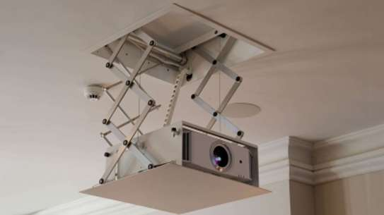 Projector Lift (Automatic Lift with RF Remote Control) 100 cm Drop Down image 1