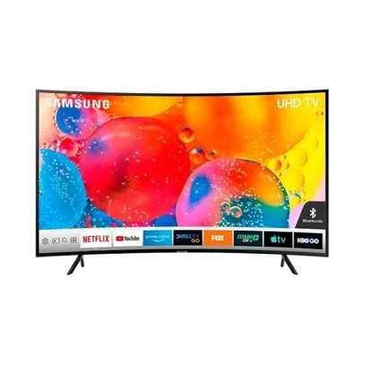 Samsung 65″ – LED – Curved, UHD, Smart 4k -Black image 1