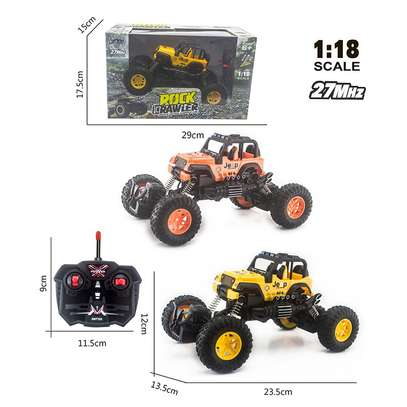 Children's remote control toy rock climber car image 8