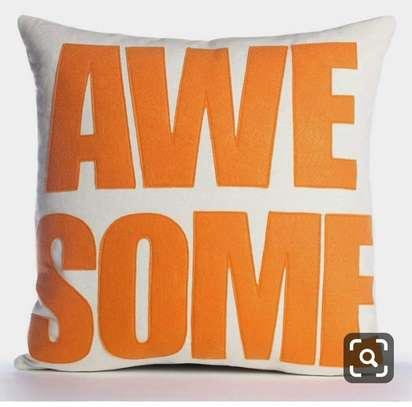 Printed cushions image 1