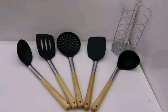 Silicon spoon set image 4