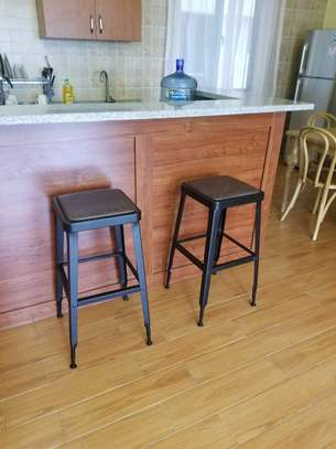 Two Mocha Bar stools