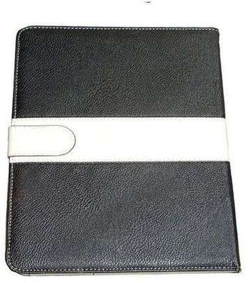 Samsung Logo Leather Book Cover Case With In-Pouch For Samsung Tab A 8.0 inches image 3