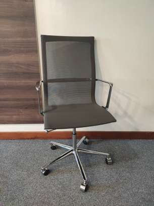 High Back Mesh Chair image 1
