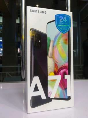 SAMSUNG GALAXY A71 NEW WITH 2 YEARS WARRANTY FOR AFRICA image 2