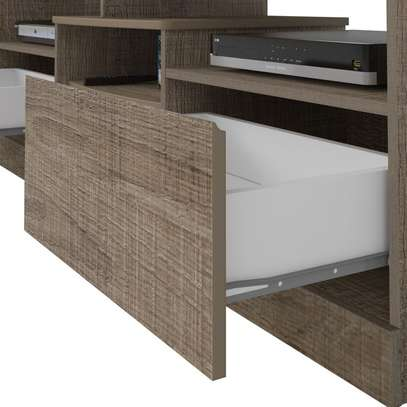 TV Stand Rack ( Texas Rack - Canela ) - Up to 47 Inch TV Space image 4