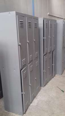 Clothing lockers 3comparments