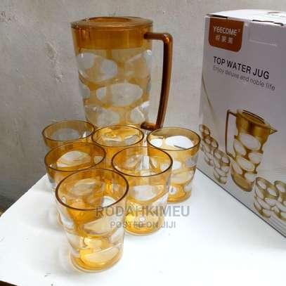 Gold Acrylic Top Water Jug image 1