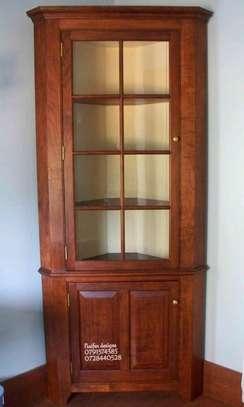 Wooden cabinets for sale in Nairobi Kenya/artefacts rack/corner stands for sale in Nairobi Kenya/best corner stand designs for sale in Nairobi Kenya image 1