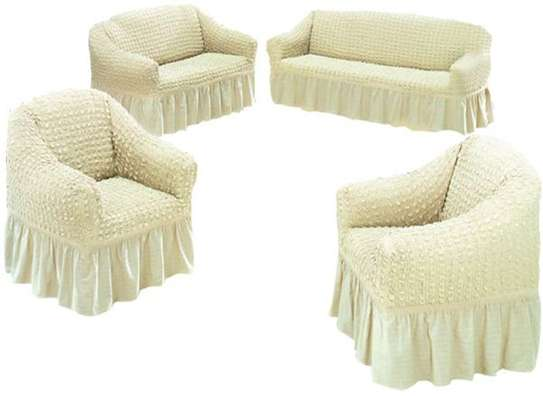 Stretchable Sofa Seat Covers seven seater- 3+2+1+1 (7 seater) image 5