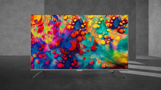 New 50 inch TCL Q-LED 50C725 Android Smart UHD-4K Digital Frameless Tvs image 1