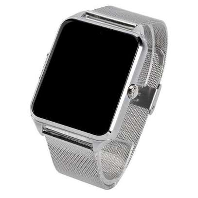 Bluetooth/Simcard Smartwatch with Stainless steel band. image 5