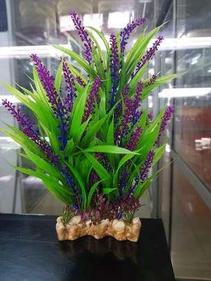Large Aquarium Plastic Plants image 3
