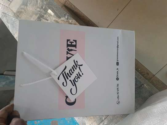 Gift bags branding.