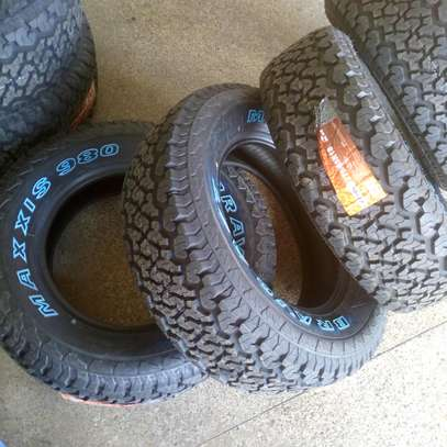 Maxxis tyres 265/75/16 image 1