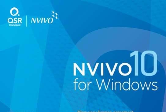 QSR Nvivo 10 (Wibdows/ Mac) image 1
