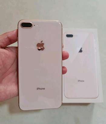 Apple Iphone 8 Plus / 256 Gigabytes / Gold And Wireless Airpods image 1