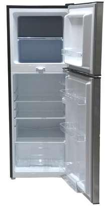 Mika Refrigerator, 200L, Direct Cool, Double Door, Dark Matt Stainless Steel image 2