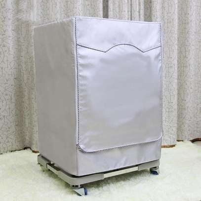 Front load washing machine cover image 1