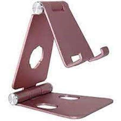 Magnetic Desk Mobile Holder, Adjustable Phone Stand, Dual Foldable , image 1