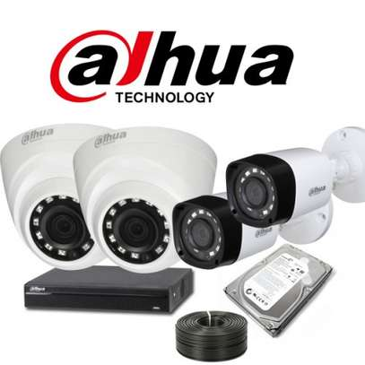 Complete Setup 8 CCTV cameras 1080P Full HD Sales plus Installation